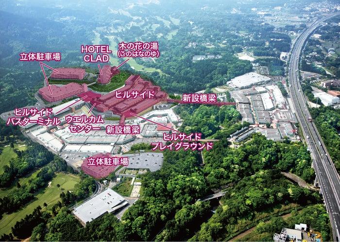 御殿場プレミアム・アウトレット第4期増設イメージ/画像提供:三菱地所・サイモン