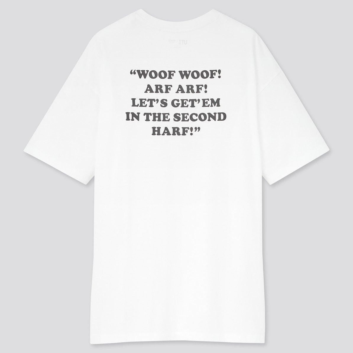 ユニクロ UNIQLO UT Tシャツ ユーティー スヌーピー ピーナッツ SNOOPY PEANUTS ヴィンテージ VINTAGE コラボ 新作 トップス おすすめ レディース 女性 白T 背中