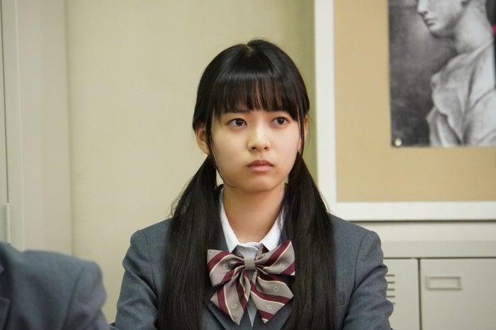 新條由芽/ドラマ『3年A組 ―今から皆さんは、人質です―』より(C)日本テレビ