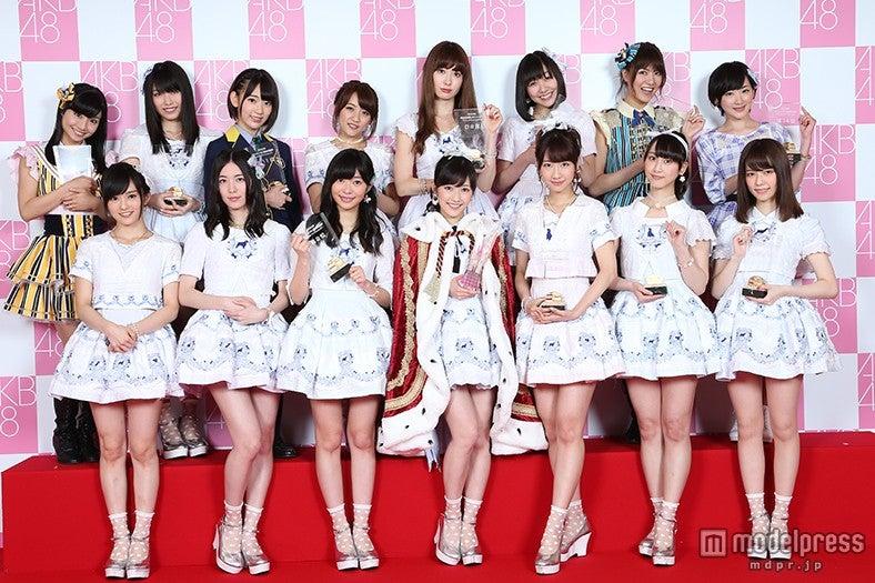 「第7回AKB48選抜総選挙」の見どころは?/写真は昨年「第6回選抜総選挙」の選抜メンバー(C)AKS【モデルプレス】