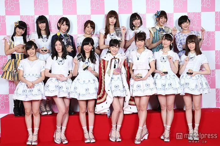 「第6回選抜総選挙」選抜メンバーAKB48(C)AKS