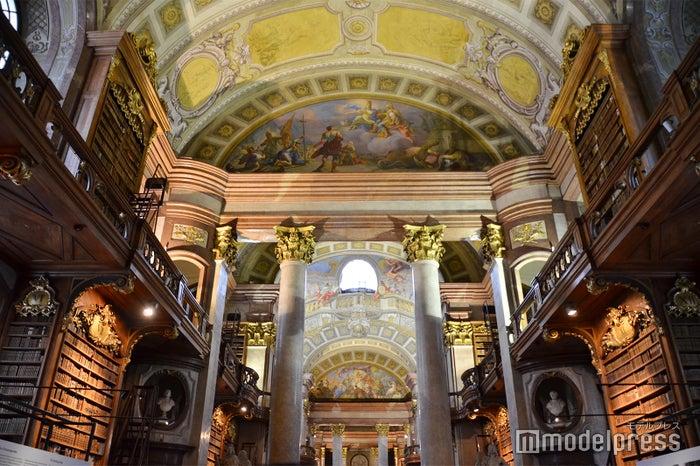 オーストリア国立図書館(C)モデルプレス
