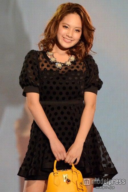 ファッションイベント「東京ランウェイ2013 AUTUMN/WINTER」に出演した筧美和子