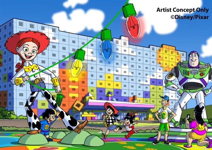 東京ディズニーリゾート・トイ・ストーリーホテル※イメージ(C)Disney/Pixar