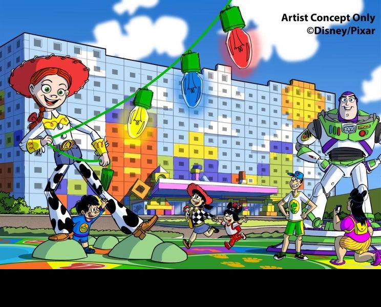 国内5番目のディズニーホテル、名称決定 「トイ・ストーリー」シリーズがテーマ