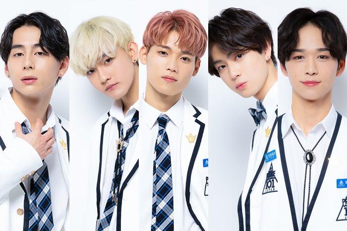 上位5人の(左から)西洸人、田島将吾、木村柾哉、佐野雄大、後藤威尊(提供写真)
