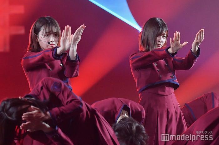 欅坂46/リハーサル時に撮影(C)モデルプレス