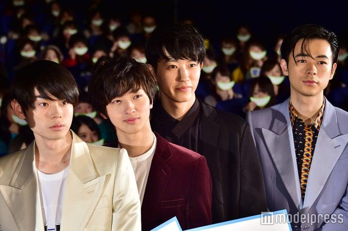 (2017年撮影)グリーンボーイズ(左から)菅田将暉、横浜流星、杉野遥亮、成田凌(C)モデルプレス