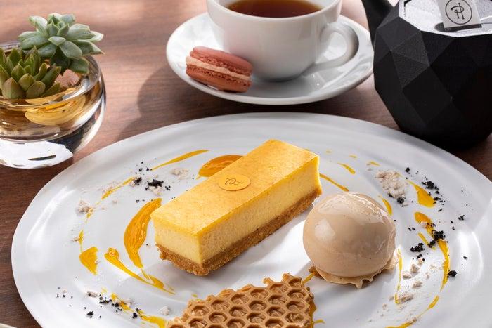 ピエール・エルメ・パリ ニューヨークチーズケーキ(提供画像)