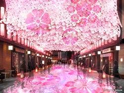 「日本橋 桜フェスティバル」フォトジェニックな花見新名所&グルメ登場