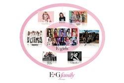 E-girls新体制発表「E.G.family」に反響 ファンの反応は?