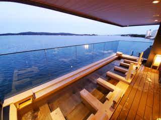 石川「和倉温泉 白鷺の湯 能登海舟」七尾湾の絶景望むオーシャンビューの温泉ホテル