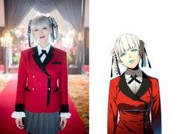 池田エライザ、銀髪&三つ編みツインテール姿を初披露 絶対的支配者に<賭ケグルイ>