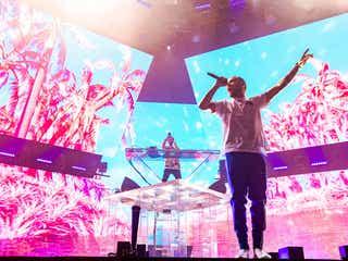 10回目の来日DJ・ゼッド、1Dリアムが日本公演にサプライズ登場 3万人が熱狂