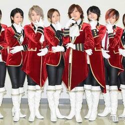 (左から)陽稀、麻琴、千知、星波、未来、乃愛、Lee、つばさ (C)モデルプレス
