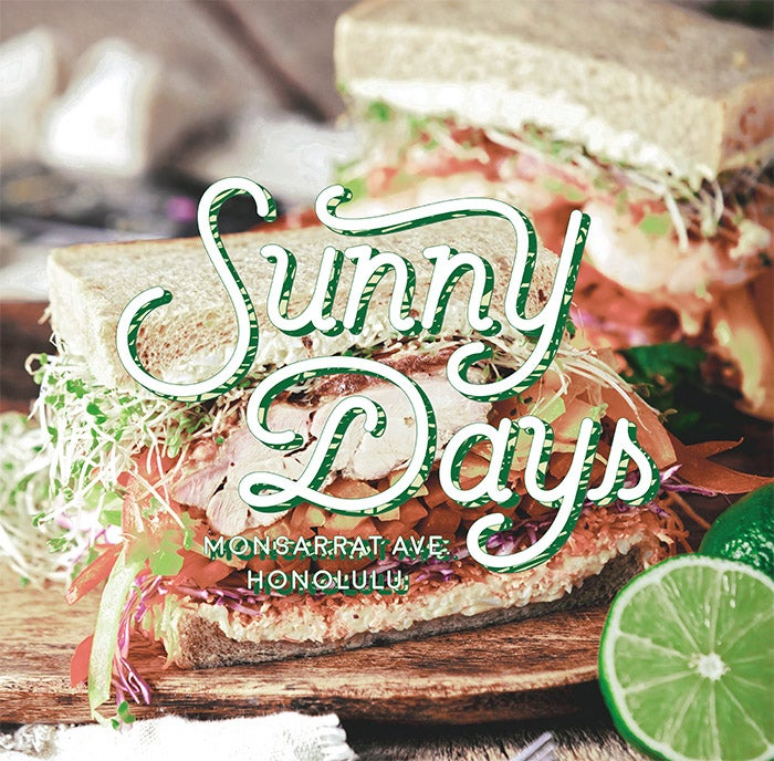 Sunny Days Pop-up store/画像提供:ハナフル