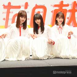 (左から)星野みなみ、山下美月、齋藤飛鳥、堀未央奈、与田祐希 (C)モデルプレス