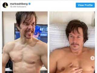 超ムキムキだったマーク・ウォールバーグ、ぽっちゃりに!3週間で9キロ増量