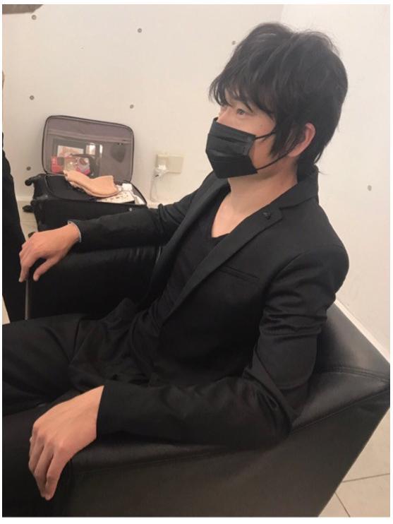 綾野剛風メイクのザブングル加藤歩/ざわちんオフィシャルブログ(Ameba)より