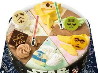 サーティワン「スター・ウォーズ/ ギャラクシーパレット」C-3POら人気キャラがアイスケーキに!