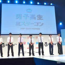 「男子高生ミスターコン2017」ファイナリスト (C)モデルプレス