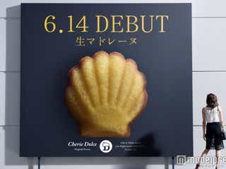 山田優も「お気に入り」の生マドレーヌ登場 しっとり食感&コクのあるクリームがやみつきに!