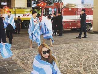 加藤紗里、韓国ホテル火災で避難「全裸に紙パンツ状態だった」