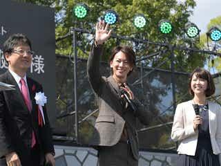 佐藤健、サプライズ登場 熊本に駆けつけ復興への想い語る