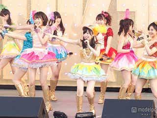 HKT48、初の沖縄で涙&笑顔の全力パフォーマンス サプライズ&新曲初披露も<セットリスト>