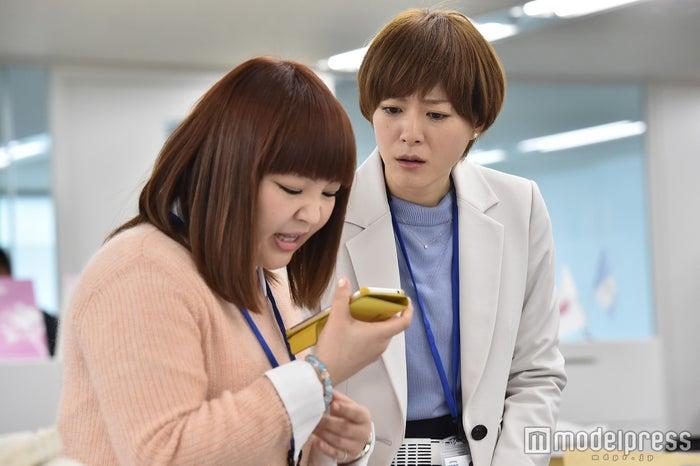 柳原可奈子、上野樹里「家族ノカタチ」第4話場面カット/画像提供:TBS