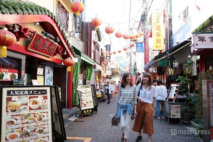 500以上の店が集まる横浜中華街