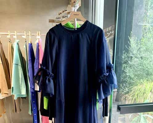 「エンフォルド」「ナゴンスタンス」22年プレスプリングコレクション 心豊かに快適で楽しい休日服