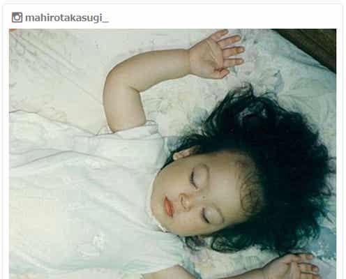 高杉真宙「天使すぎる」幼少期の寝顔ショット公開