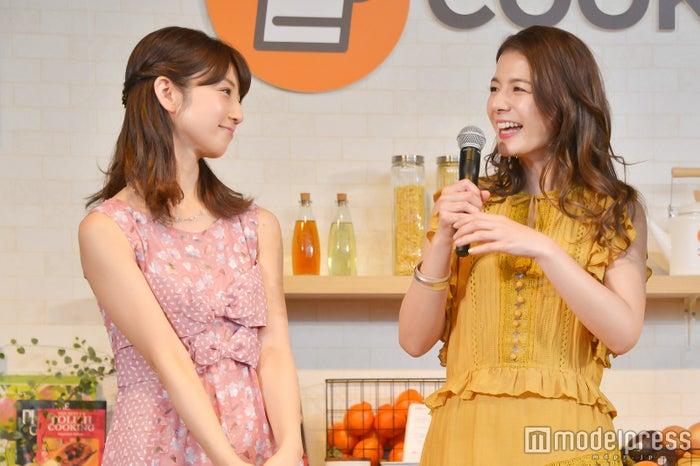(左から)小倉優子、スザンヌ (C)モデルプレス