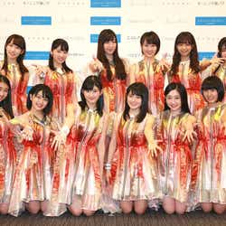 公演前取材に参加したメンバー (画像提供:アップフロントエージェンシー)