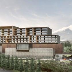 「アンバウンド コレクション by Hyatt」静岡に2022年開業、富士山一望&モータースポーツミュージアムも併設
