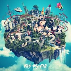 キスマイ、最新アルバム「To-y2」ジャケット写真&収録内容を発表