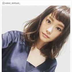 モデルプレス - 桐谷美玲、髪ばっさりイメチェン「意外と短くなった」 ビフォーアフターも公開で反響
