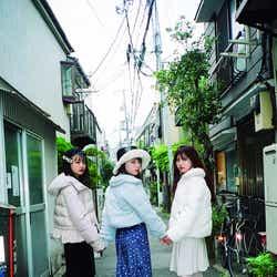 原田葵、森田ひかる、上村莉菜(画像提供:光文社)