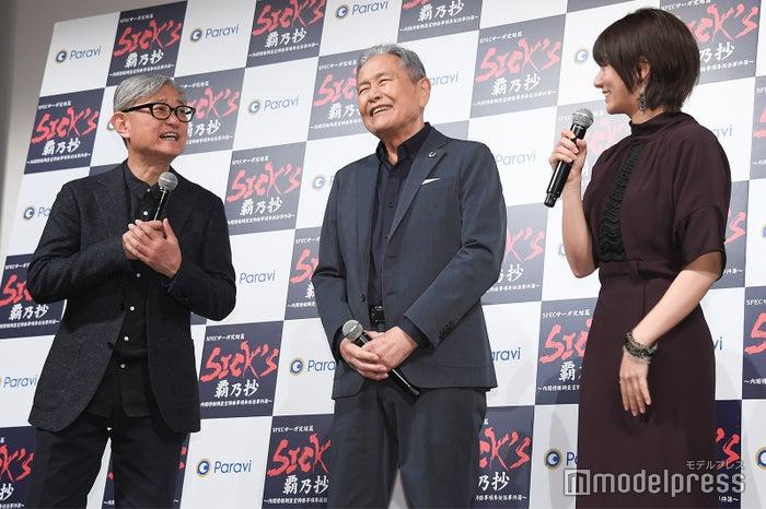 堤幸彦監督、竜雷太、木村文乃 (C)モデルプレス