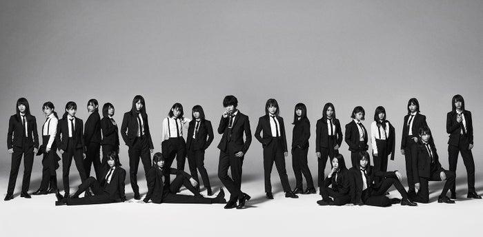 欅坂46・5thシングル『風に吹かれても』アーティスト写真(提供写真)