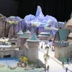 """""""夢の世界""""想像を ディズニーシー新エリア、イメージ模型公開 23年開業"""
