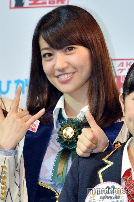 「AKB48グループ ドラフト会議」に出席した大島優子