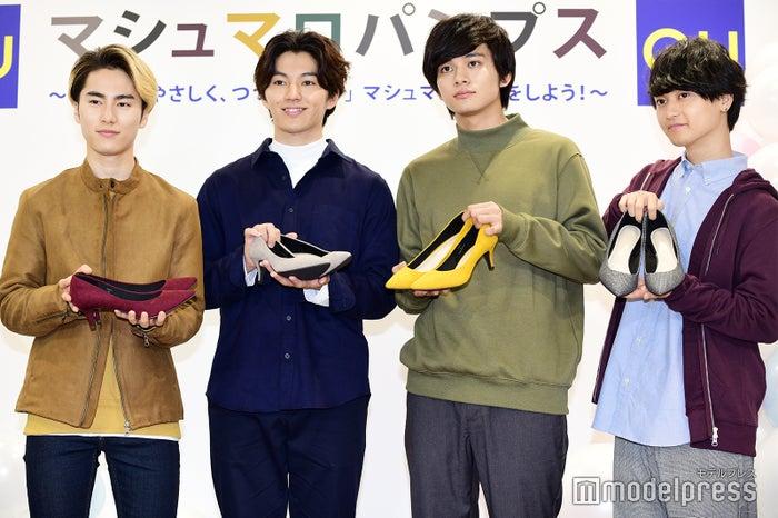 DISH//(左から)泉大智、矢部昌暉、北村匠海、橘柊生 (C)モデルプレス