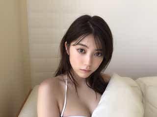 ちゃんえな(中野恵那)、ビキニで美バスト披露 初グラビアは「少し不安だった」