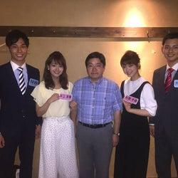 フジ新人アナ4名、テレビ初出演で全国放送デビュー ダウンタウン&坂上忍から洗礼