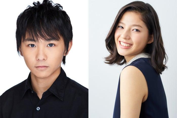 NHK BSプレミアムのドラマ「嘘なんてひとつもないの」で共演する須賀健太と石井杏奈(画像提供:NHK)