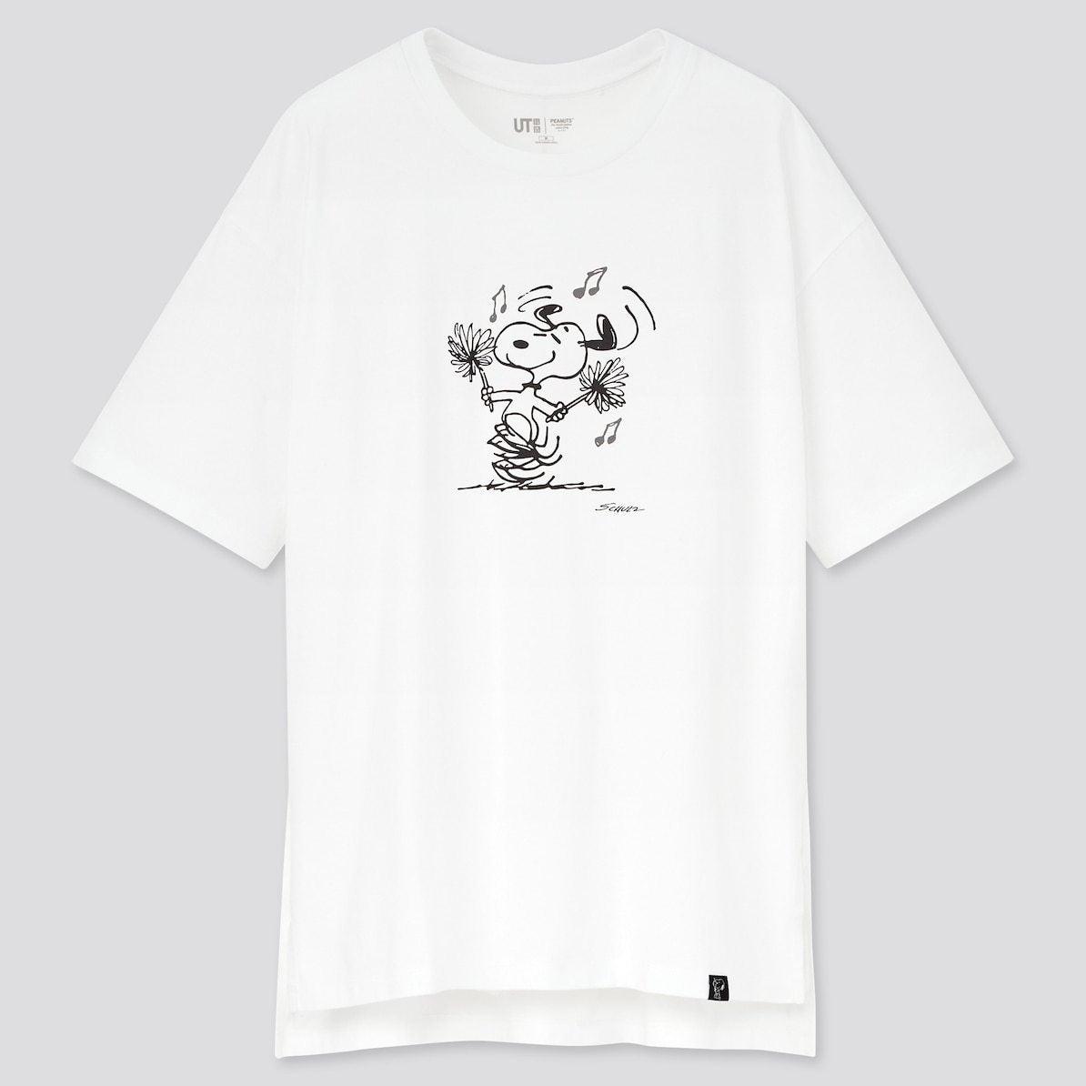ユニクロ UNIQLO UT Tシャツ ユーティー スヌーピー ピーナッツ SNOOPY PEANUTS ヴィンテージ VINTAGE コラボ 新作 トップス おすすめ レディース 女性 白 ホワイト