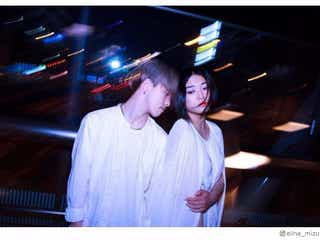 Elina(水野絵梨奈)ユニット「白雨」結成 新ビジュアル解禁に反響