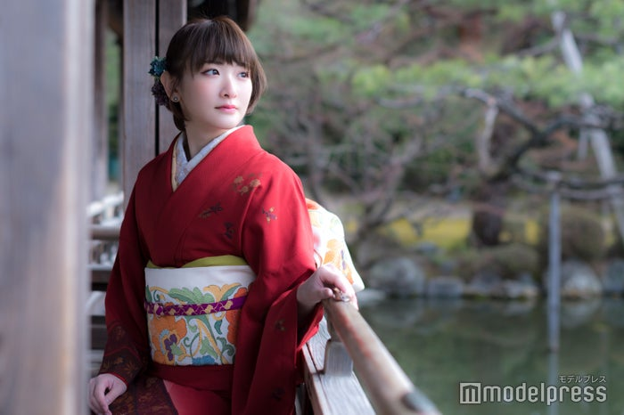 生駒里奈、着物で魅せる大人の表情にドキッ 古都・京都の朝は「まるでファンタジー」<密着インタビュー>(C)モデルプレス